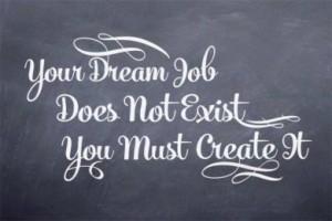 Your dream job...