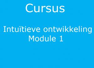 Cursus i.o. module 1